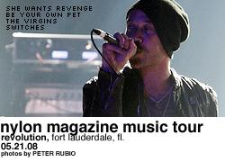 Nylon Magazine Music Tour @ Revolution