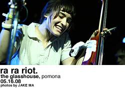 Ra Ra Riot @ the Glasshouse