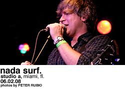 Nada Surf @ Studio A