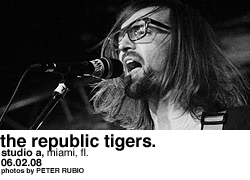 The Republic Tigers @ Studio A