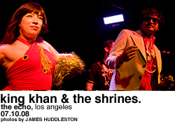 King Khan & The Shrines @ Echo
