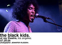 The Black Kids @ El Rey Theatre