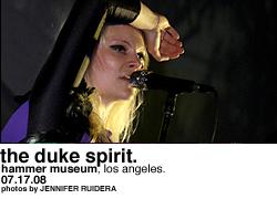 The Duke Spirit @ Hammer Museum