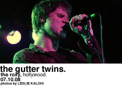 The Gutter Twins @ Roxy Theatre