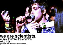 We Are Scientists @ El Rey Theatre