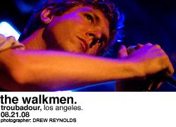 The Walkmen @ Troubadour