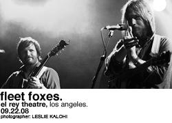 Fleet Foxes @ the El Rey