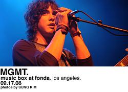 MGMT @ Music Box at the Fonda