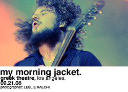 My Morning Jacket @ Greek Theatre