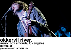 Okkervil River @ the Music Box at the Fonda