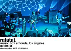 Ratatat @ Music Box