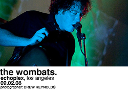 The Wombats @ Echoplex