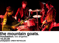 The Mountain Goats @ the Troubadour