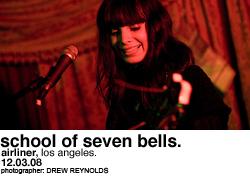 School of Seven Bells @ Airliner