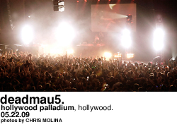 Deadmau5 at the Palladium