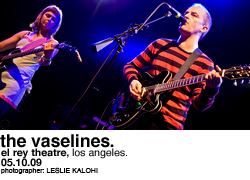 The Vaselines @ the El Rey