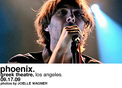 Phoenix at the Greek Theatre