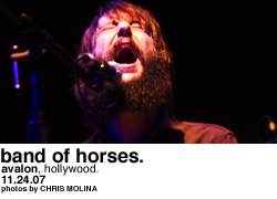 Band of Horses @ Avalon Hollywood