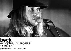Beck @ Echoplex