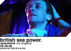 British Sea Power @ Spaceland