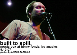 Built to Spill @ the Music Box at Henry Fonda