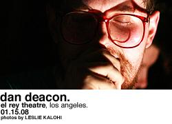 Dan Deacon @ El Rey Theatre
