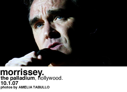Morrissey @ the Palladium