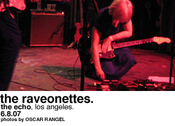 The Raveonettes @ the Echo