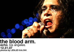 The Blood Arm @ the Echo