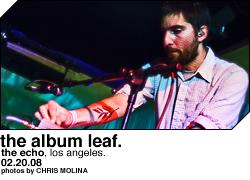 The Album Leaf @ the Echo