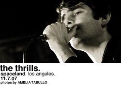 The Thrills @ Spaceland