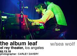 The Album Leaf at El Rey Theater