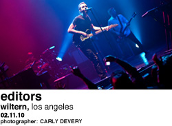 Editors at Wiltern