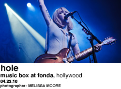 Hole at Music Box at Fonda