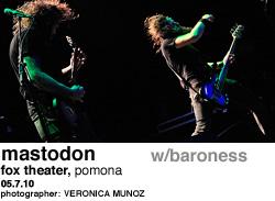 Mastodon at Fox Theater