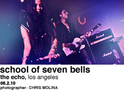 School of Seven Bells at The Echo