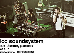 LCD Soundsystem at Fox Theater