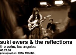 Suki Ewers & The Reflections at Echo