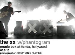 The XX at Music Box at Fonda