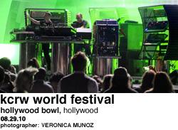KCRW World Festival at Hollywood