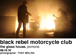 Black Rebel Motorcycle Club at Glass House