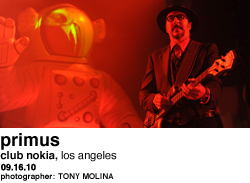 Primus at Nokia Theater