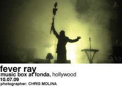 Fever Ray Henry at Fonda