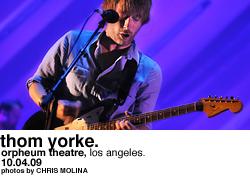 Thom Yorke at Orpheum Theatre