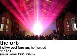 The Orb at Hollywood Forever