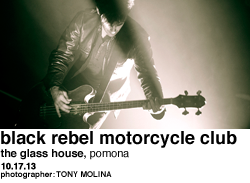 Black Rebel Motorcycle Club at The Glass House Pomona