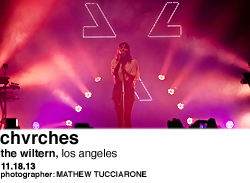 Chvrches at The Wiltern