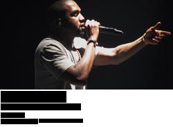 Kanye West at Honda Center
