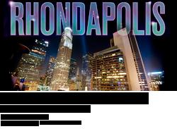Rhondapolis at The Standard, Los Angeles