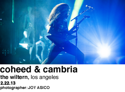 Coheed & Cambria at The Wiltern, Los Angeles